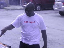RAGE member Alieon - RAGE Father's Day Celebration
