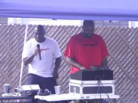 RAGE member Antoine and Alieon - RAGE Father's Day Celebration