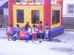 Young people having a good time - RAGE Father's Day Celebration