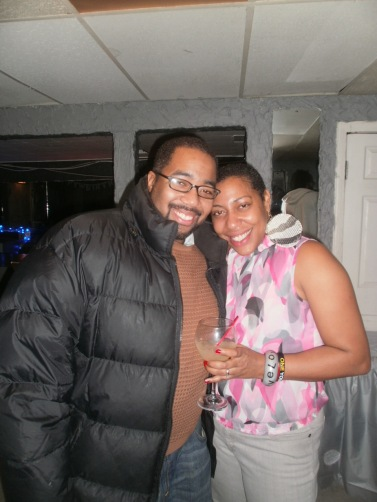 6th Ward Chief of Staff, Brian Sleet and RAGE President Aysha Butler - RAGE Holiday Party