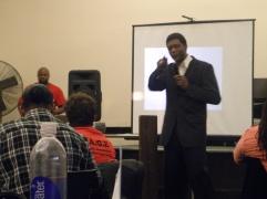 Ron Carter Black Wall Street at Real Talk