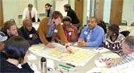 RAGE Members at Green Healthy Neighborhood Meeting