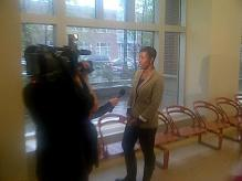 RAGE Member Rashanah Baldwin at Mayor's Town Hall at KKC
