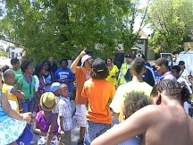 Takin it to the Streets/African Parade with National Block Club University