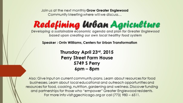 Redefining Urban Agriculture