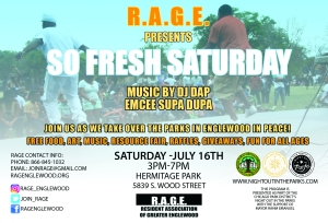 RAGE So Fresh Saturdays1