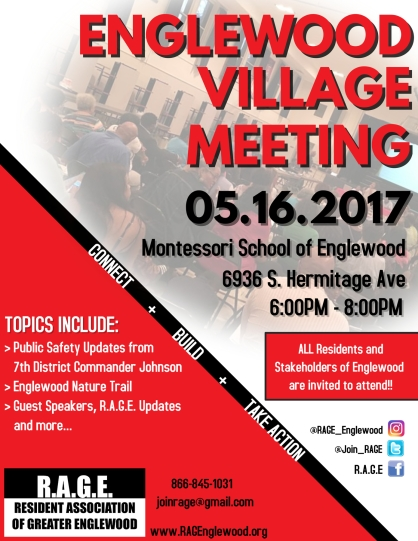 May Englewood Village Meeting