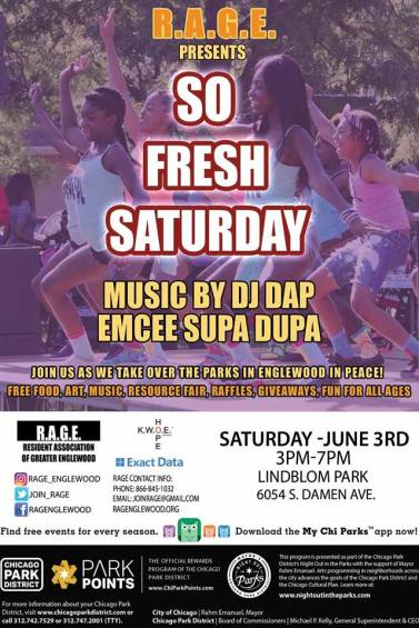 So Fresh Saturday - Lindblom Flyer