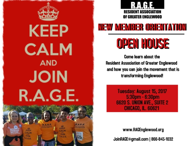 August Open House Flyer