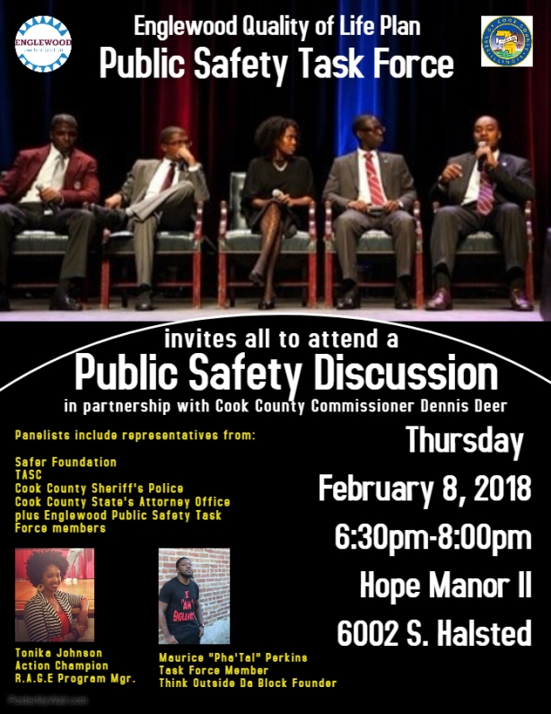 Public Safety Forum Flyer