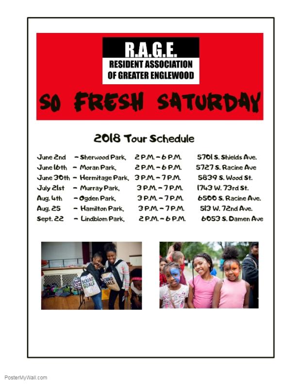 SFS Satruday Tour Schedule
