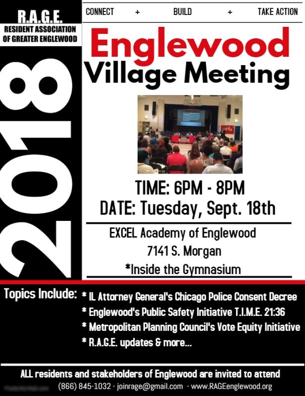 Englewood Village Meeting September 2018